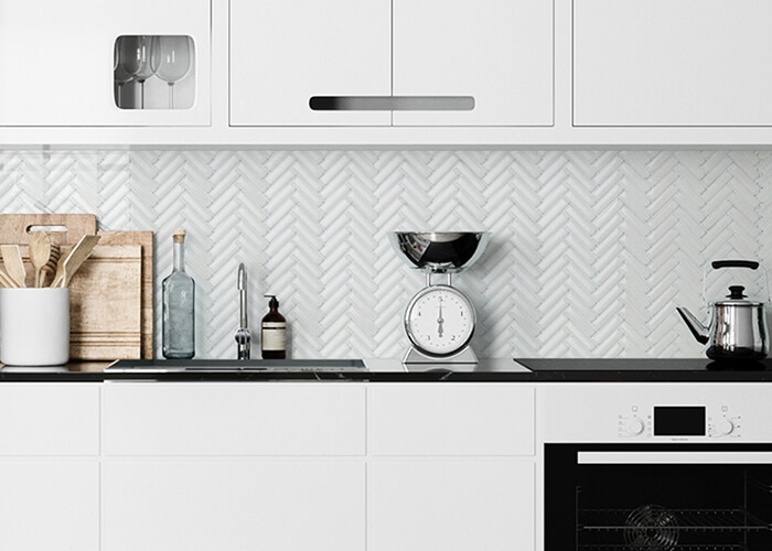 kitchen using fambe effect herringbone white tile.jpg