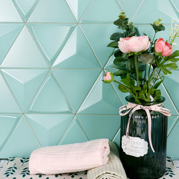mint green matte surface triangle ceramic tile.jpg