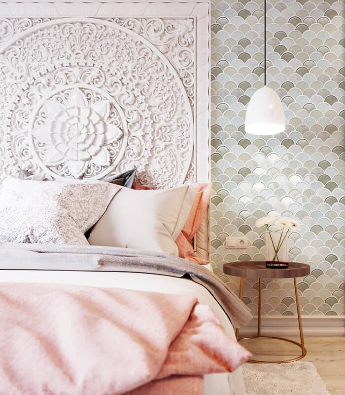 luxury fish scale tile for bedroom wall.jpg