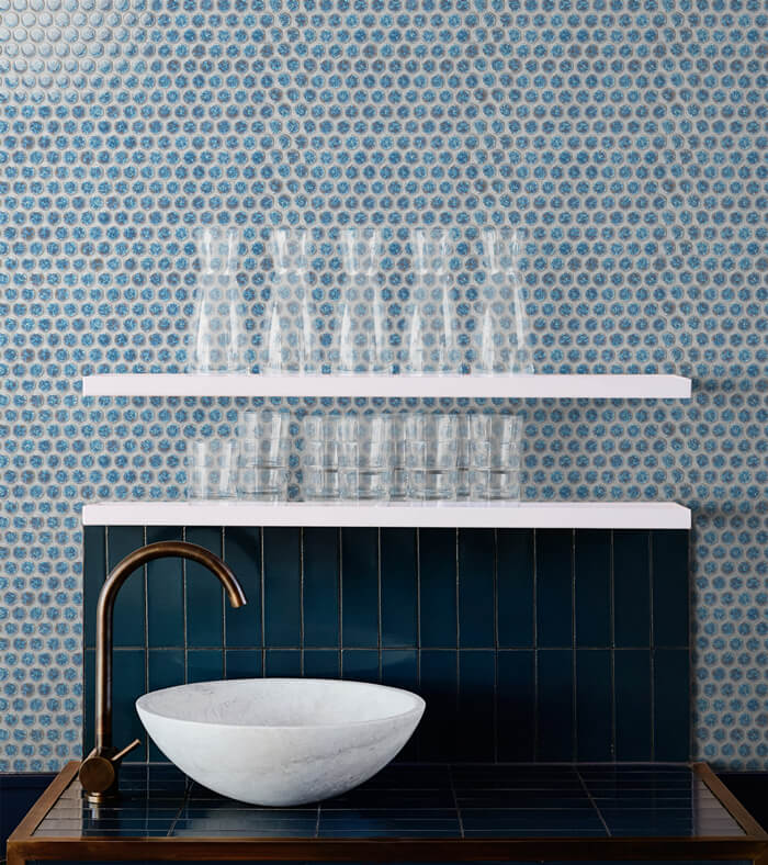 bathroom wall decor with blue penny round tile.jpg