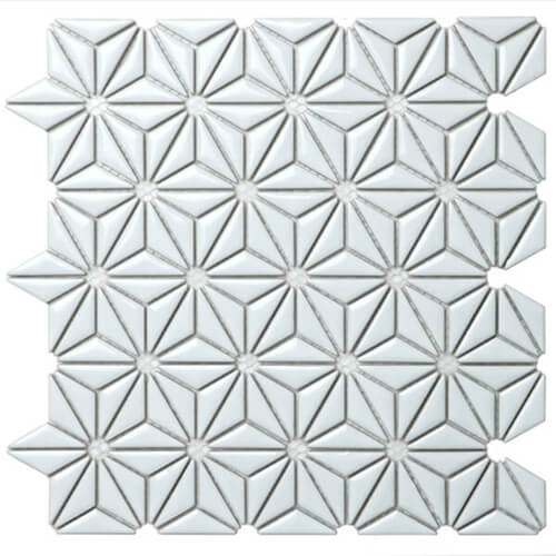 triangle sweet flower pattern ceramic wall mosaic tile CZG204CD.jpg