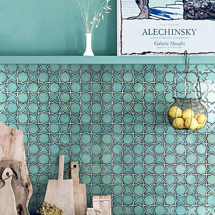 green star cross porcelain mosaic for kitchen.jpg