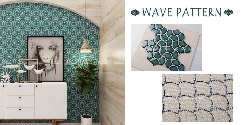 mosaic tile wall designs
