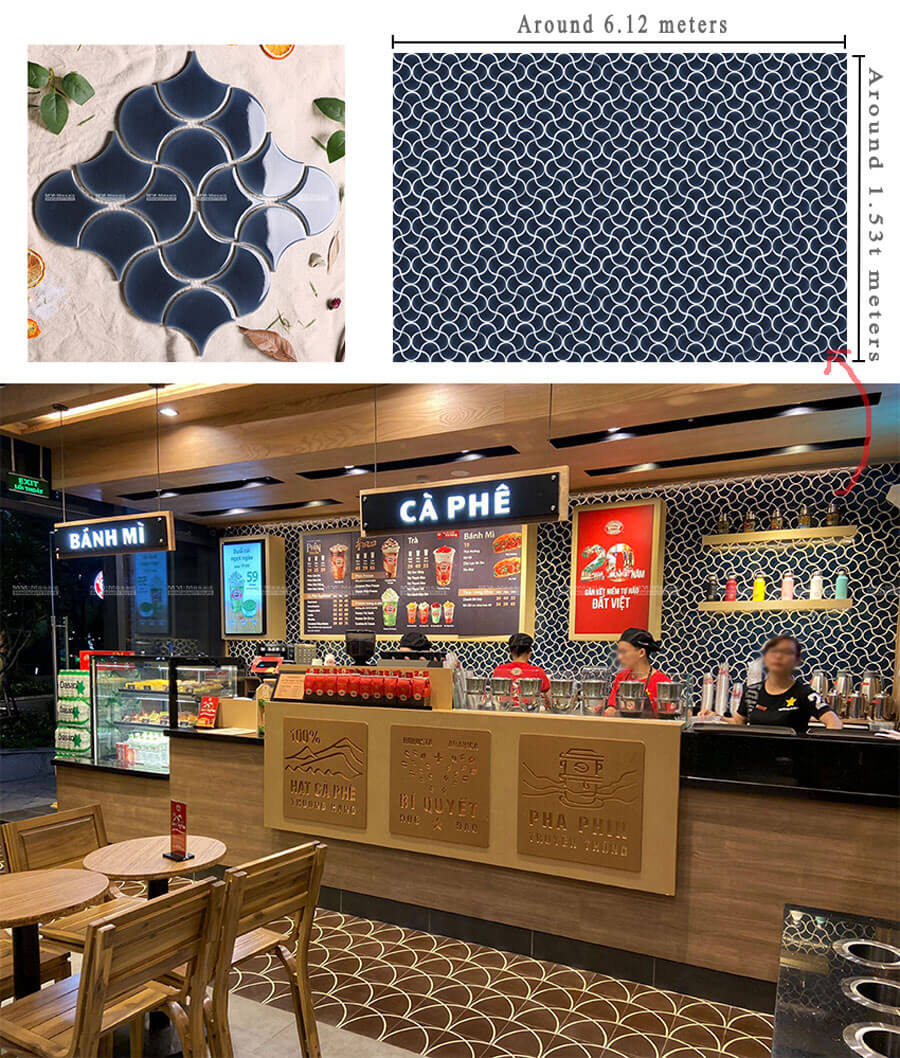 commerical project mosaic tiles wholesale