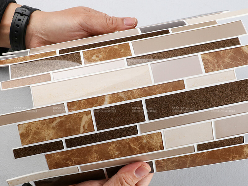 Peel and Stick Mosaic Tile ZOD6002-PS